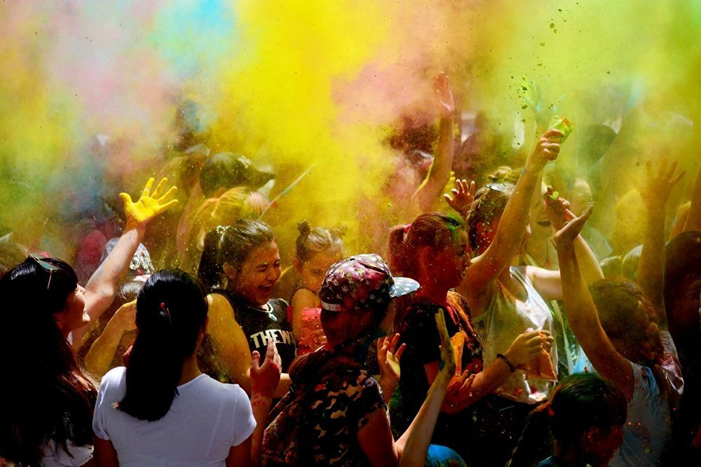 Танцевальный ColorFest